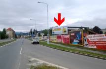 Billboard, Šumperk (Jesenická/Žerotínova, sm. Jeseník    )
