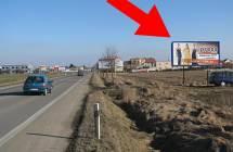 Billboard, Prostějov (Plumlovská, tah Boskovice - Prostějov )