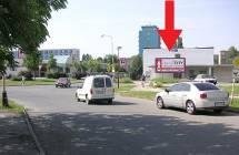 Billboard, Olomouc (Dobnerova - sídliště, Fak. nemocnice  )