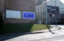 Billboard, Teplice (Dubská/Hrázní)