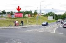 Billboard, Žatec  (Plzeňská - kruhák  )