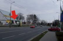 Billboard, Opava (Těšínská, ČS OMV I/11)