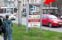 Cityboard, Olomouc (tř. Svobody/Okresní soud, ZC, zast. TRAM)