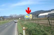 811165 Billboard, Šumperk (Bratrušovská 3 - výjezd)