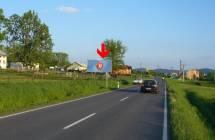 Billboard, Šumperk (Bratrušovská 2 - vjezd)