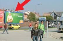 Billboard, Olomouc (autobusové nádraží ČAD, HORNBACH )