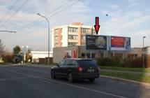 Billboard, Plzeň - Bory (Edvarda Beneše)