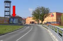 Billboard, Plzeň - Jižní Předměstí (Pobřežní ul.)