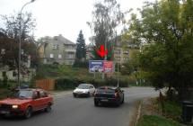 Billboard, Liberec (Londýnská - příjezd)