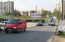 Billboard, Liberec (Kunratická 4,příjezd)