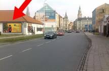 Billboard, Prostějov (Plumlovská/Jiráskovo nám.,CENTRUM        )