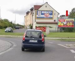 391002 Billboard, Sokolov (Husitská)