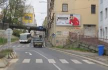 Billboard, Liberec (Sokolská/Šaldovo nám. )