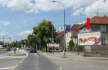 Billboard, Plzeň - Libušín (Koterovská x Jiráskova)