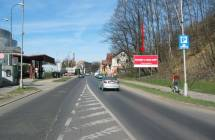 Billboard, Liberec (Milady Horákové)
