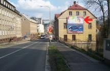 Billboard, Liberec (Sokolská 1 - průjezd )