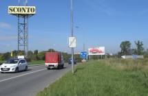 Billboard, Liberec (OC NISA,výjezd,horní park. )