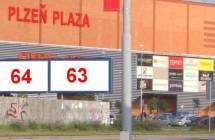 Billboard, Plzeň (Přemyslova)