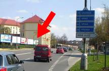 Billboard, Olomouc (Foerstrova, E442, hl. tah HK - Brno, OV)