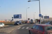 Billboard, Liberec (OC NISA, příjezd,horní park.)