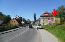 Billboard, Liberec (Rochlická 4 - směr centrum)