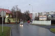 Billboard, Opava (Partyzánská x Zeyerova)