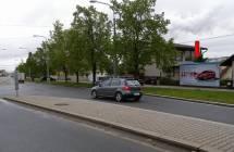 Billboard, Plzeň - Skvrňany (Vejprnická ul.)