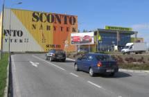 Billboard, Liberec (OC NISA,horní parkoviště)