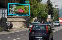 Billboard, Teplice (Alejní ulice)