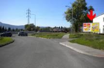 Billboard, Liberec (vjezd od Jablonce, sjezd na Kunratickou)