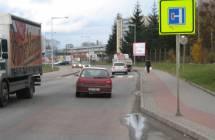 Billboard, Plzeň (Borská ul)