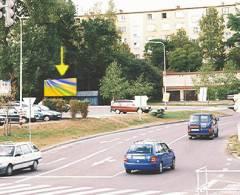281041 Billboard, Strakonice    (Husova/Katovická, I/ 22 DC)
