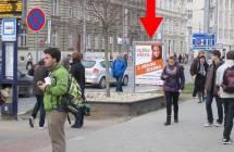 Cityboard, Olomouc (tř. Svobody/Čs.spořitelna, DC,  zast.MHD)