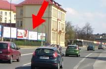 Billboard, Olomouc (Foerstrova, E442, hl. tah HK - Brno, Ost )